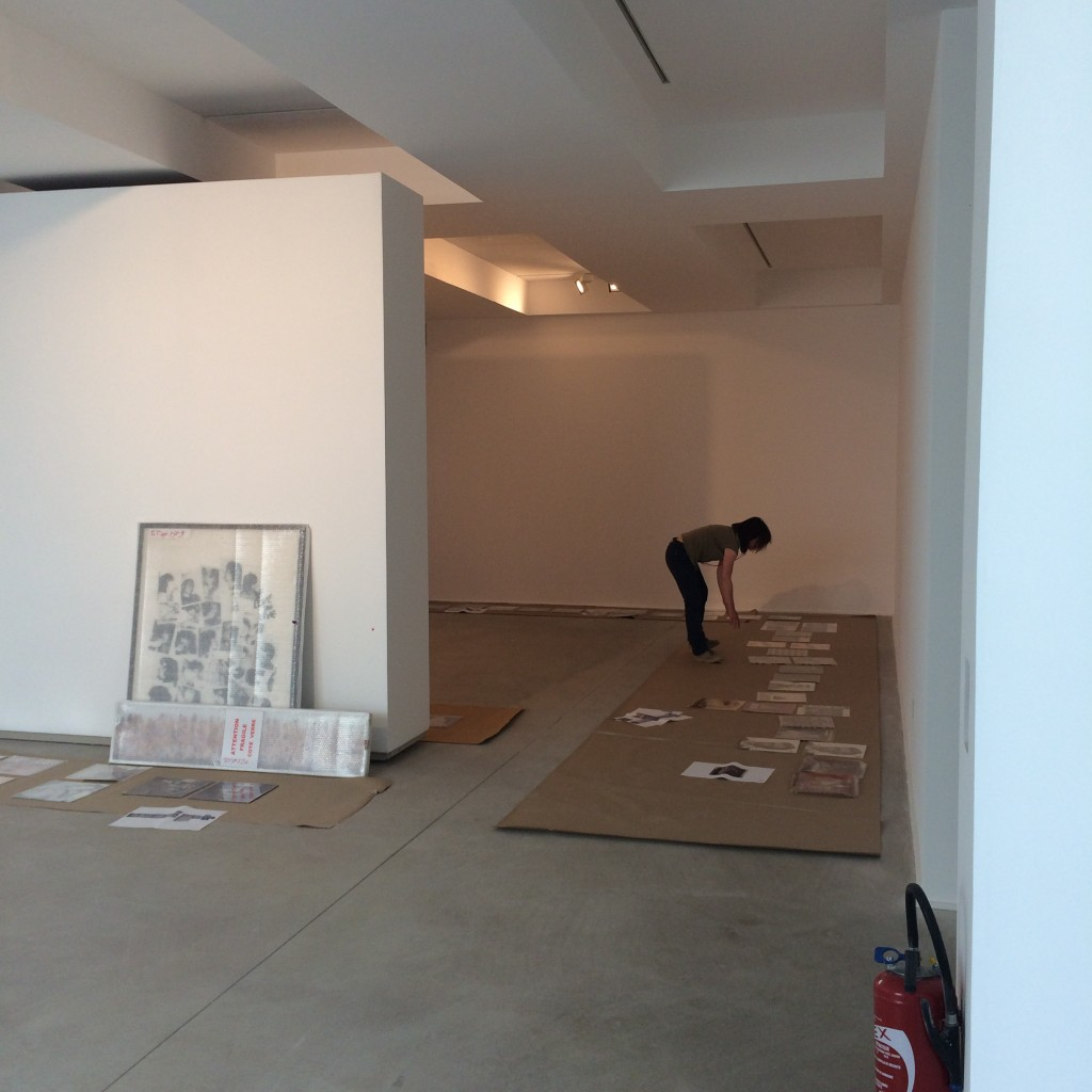 1 Total Records. Exhibition set up in Arles
