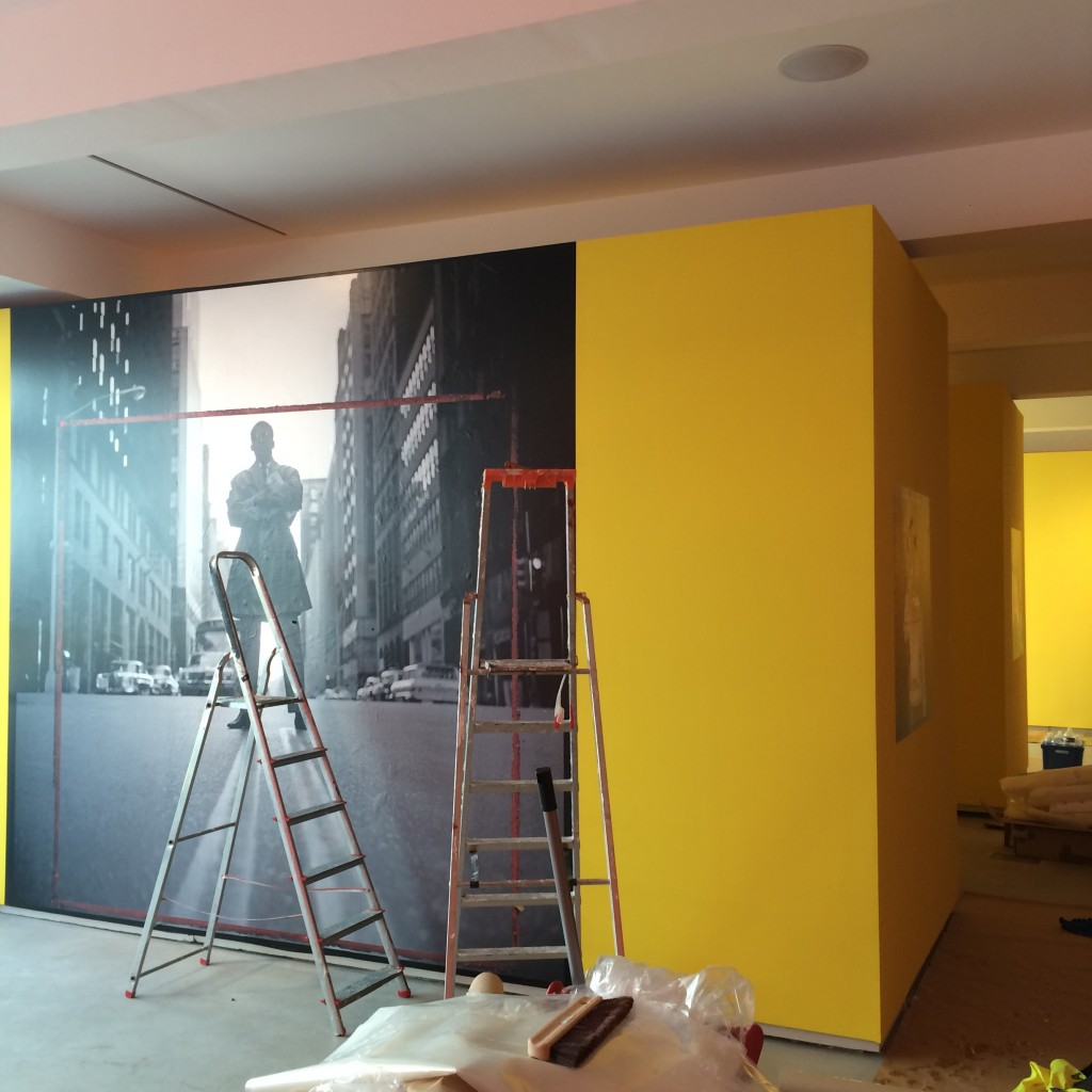 3 otal Records. Exhibition set up in Arles
