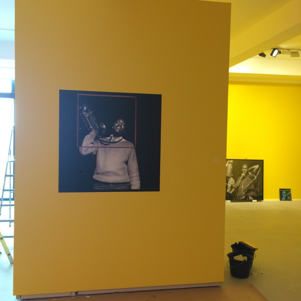 6otal Records. Exhibition set up in Arles