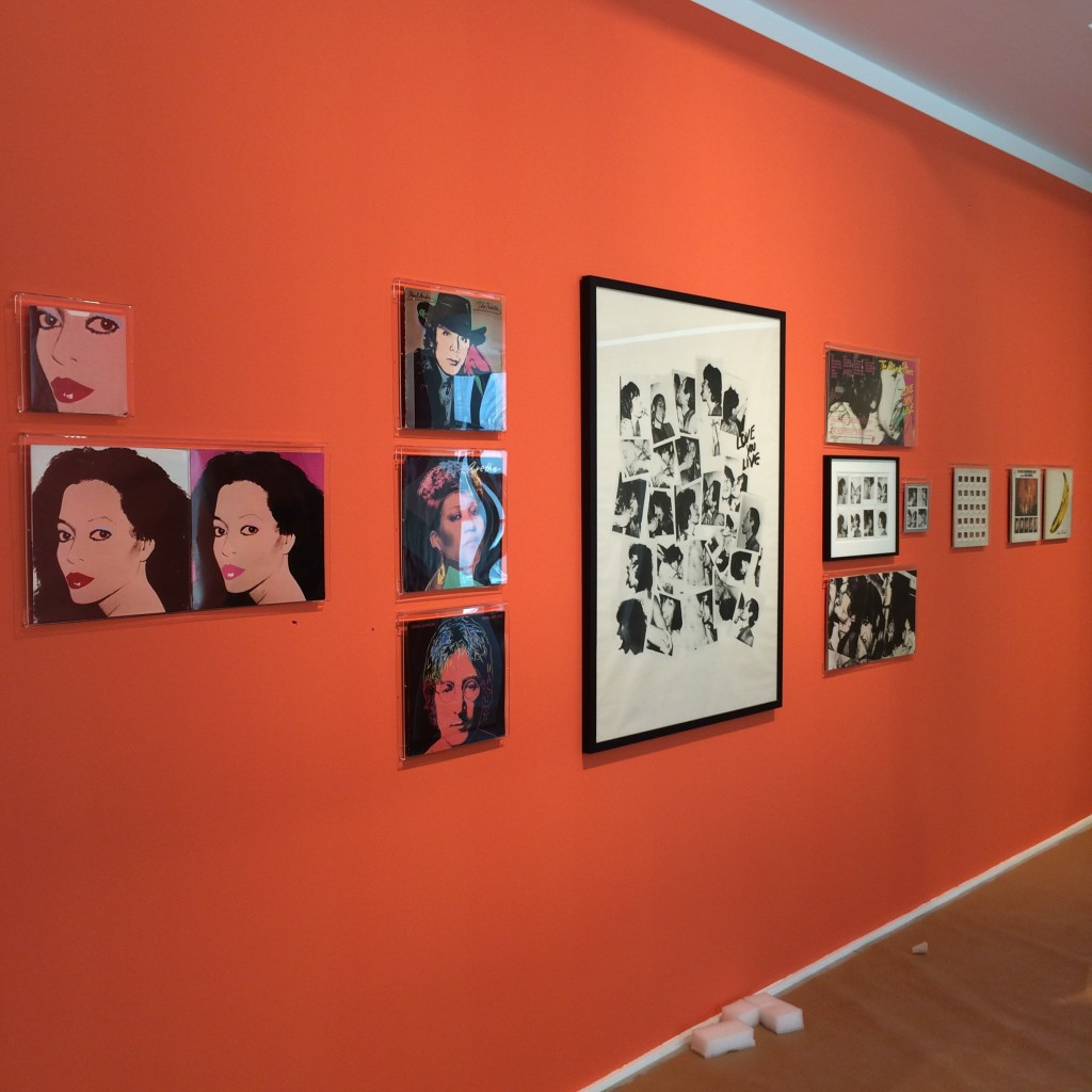 8 otal Records. Exhibition set up in Arles