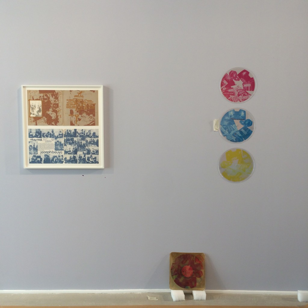9 otal Records. Exhibition set up in Arles