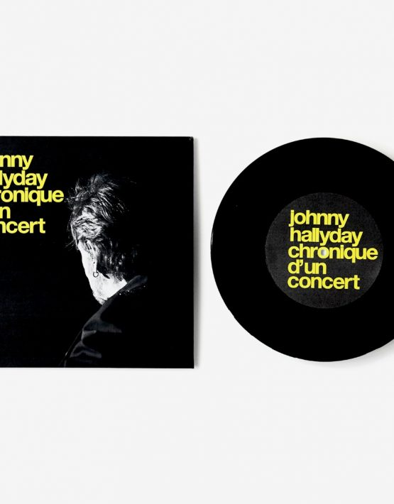 Galerie 213, Ezra Petronio, Johnny Hallyday, Chronique d'un concert, Editions Antoine de Beaupré, 2016.